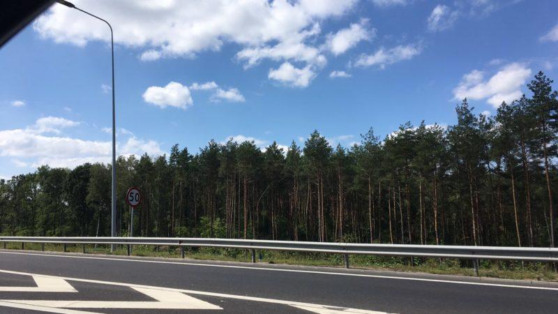 Трасса в Польше