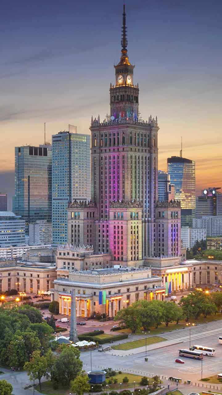 Дом культуры в Варшаве